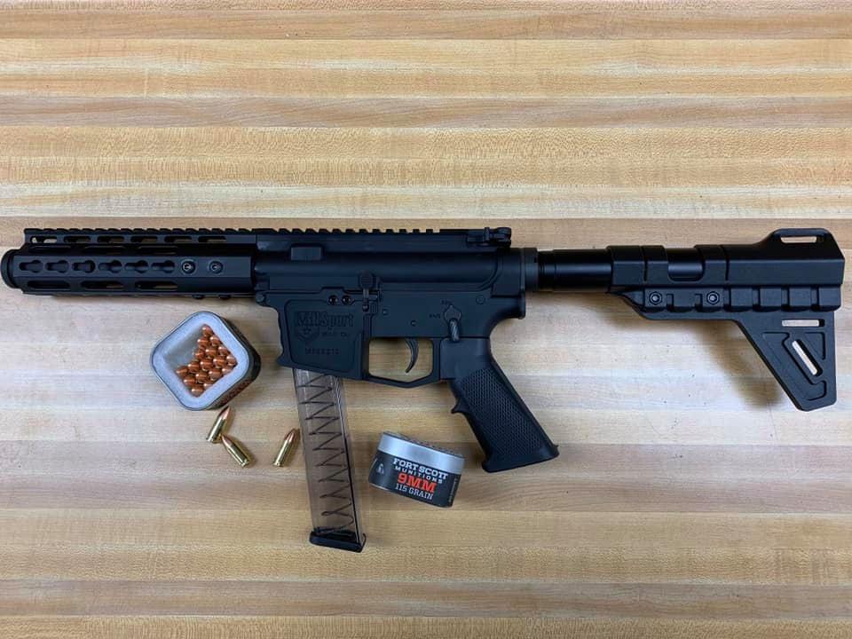 Ati 9mm Handgun